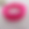 Bracelet rose en bois mémoire de forme fuchsia petit poignet