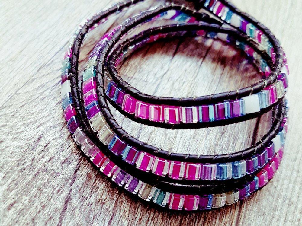 "Bracelet Wrap "" Anna """