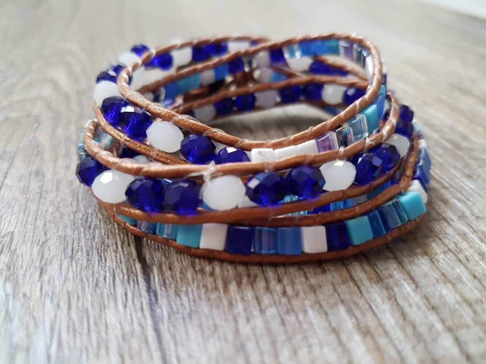 """Bracelet Wrap """" Poséïdon """""""
