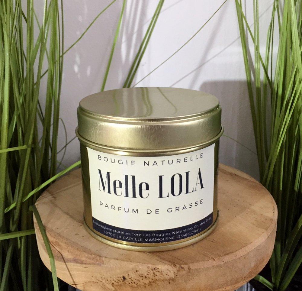 Bougie Naturelle Melle Lola