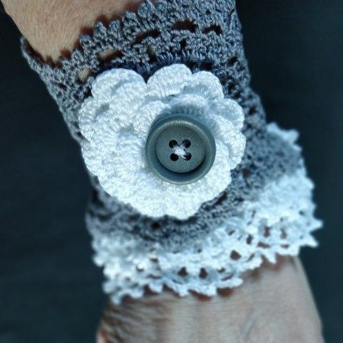 Bracelet manchette audrey