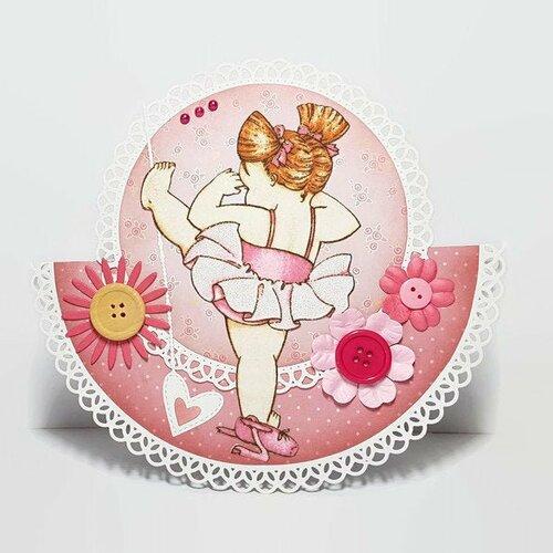 Carte Anniversaire Petite Fille Carte Danse Classique Carte Anniversaire Danse Classique Carte Tutu Carte Anniversaire Fait Main Enfant Un Grand Marche