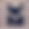Carte anniversaire masculine homme sport foot, maillot couleurs girondins bordeaux 2020-2021