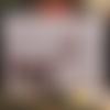 Carte de voeux xl joyeux noël gris et rouge 21 x 14,5