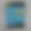 Carte anniversaire xl uniforme star trek officier scientifique bleu 21 x 14,5