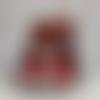 Carte pop-up boîte toute occasion anniversaire maquillage girly rouge jeune fille femme fête maman mère