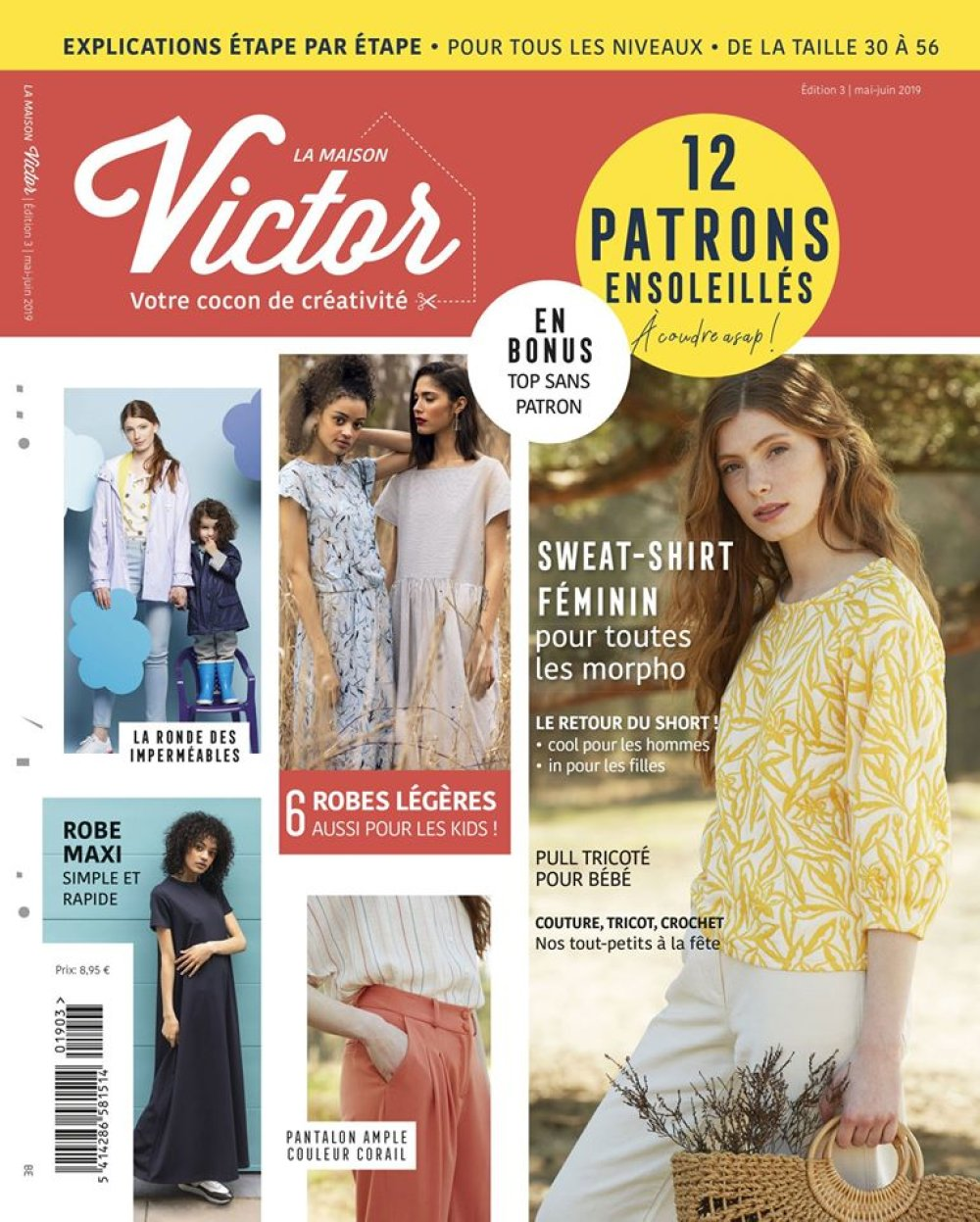 Magazine Couture La Maison Victor Mai Juin 2019