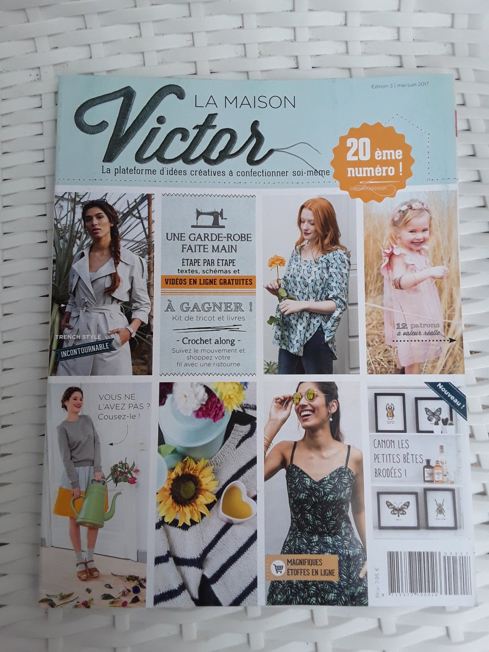 Magazine Couture La Maison Victor mai juin 2017
