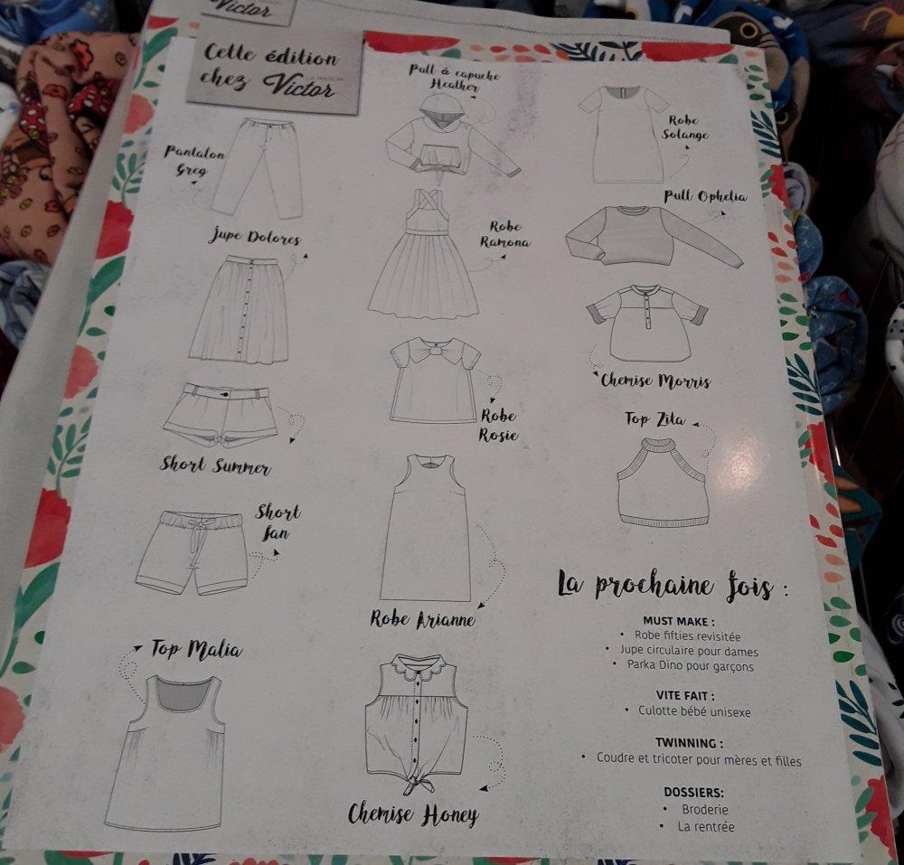 Magazine Couture La Maison Victor juillet août  2017