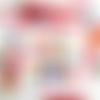 """Carte bonne année """"gommettes multicolores """" * carte nouvel an*fait main* papiers découpés/collés"""