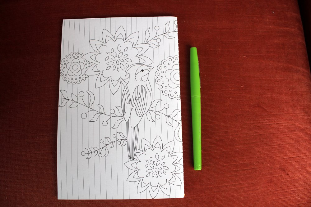 Create ! - carnet à colorier