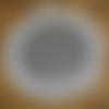 Miroir macramé blanc diamètre 40. personnalisable sur demande