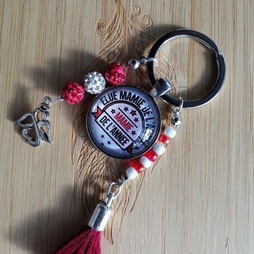 Porte clés mamie