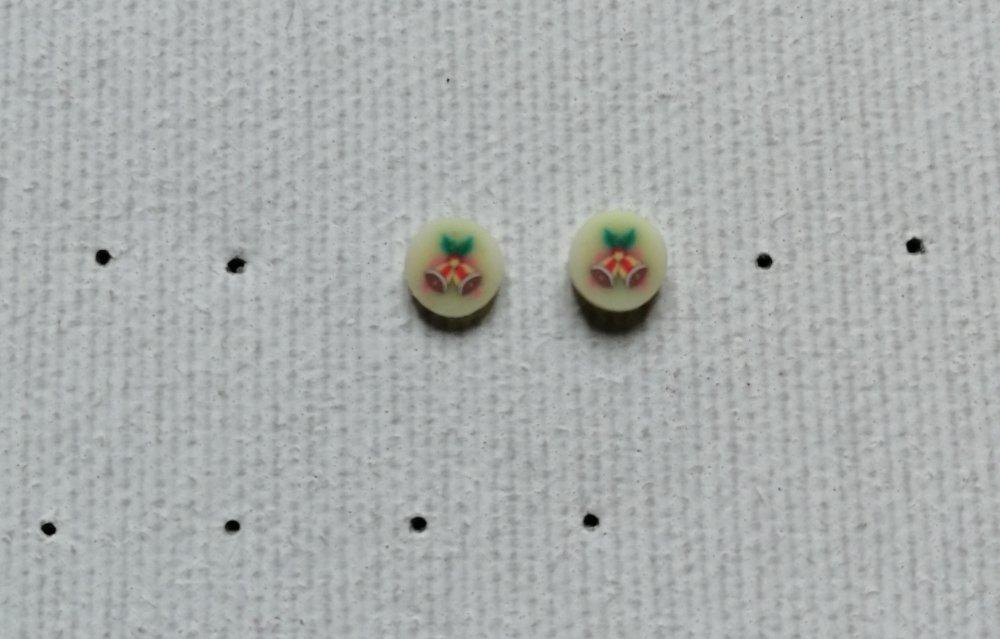 Boucles d'oreilles puces cloches