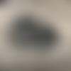 Dessous de plat gris argenté en résine époxy