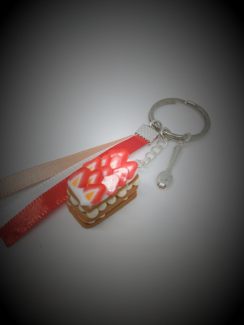 porte clés en pâte polymère
