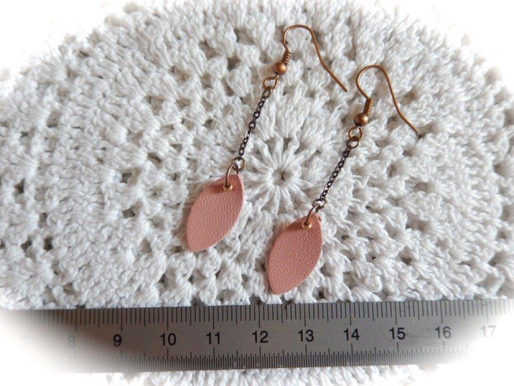 Boucle d'oreilles pendantes