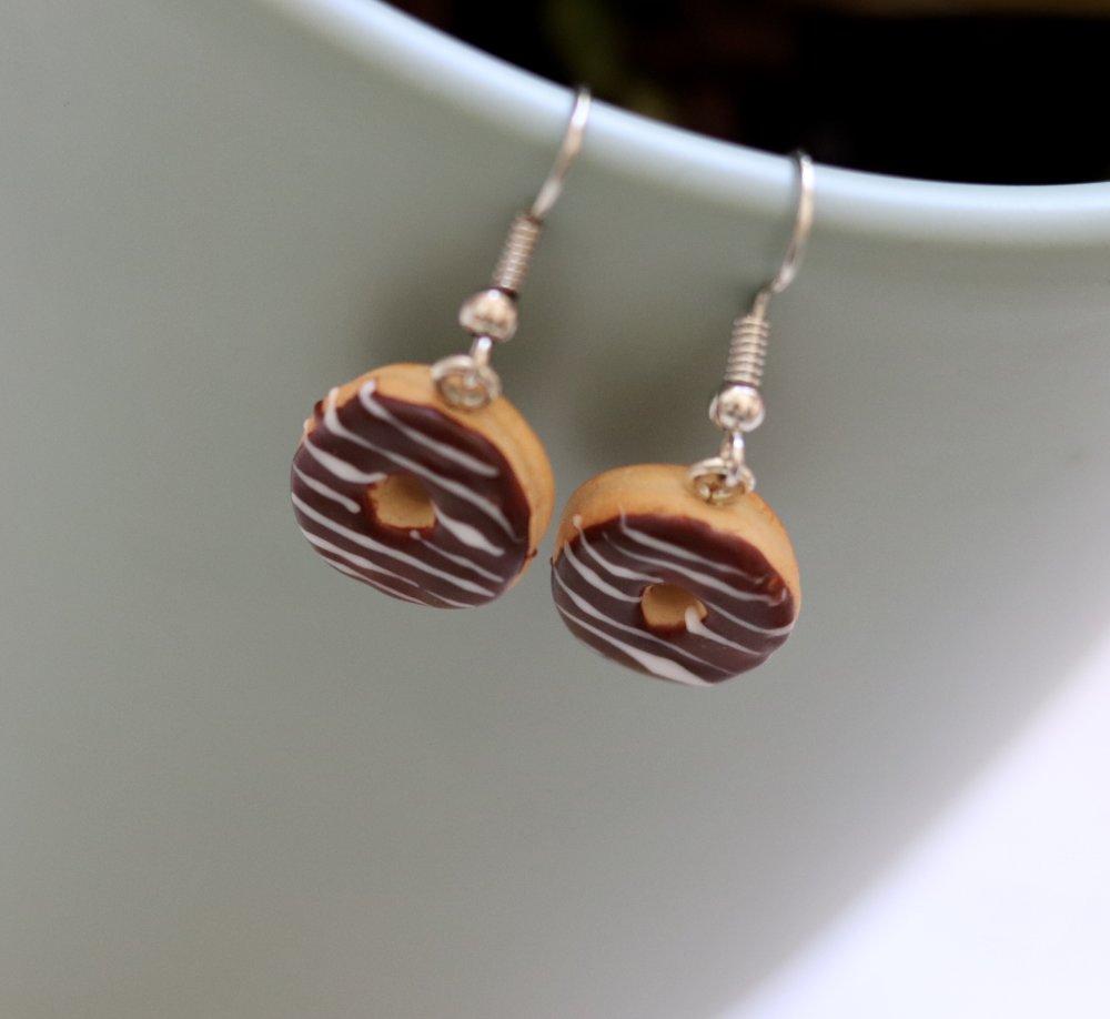 Donuts aux chocolats