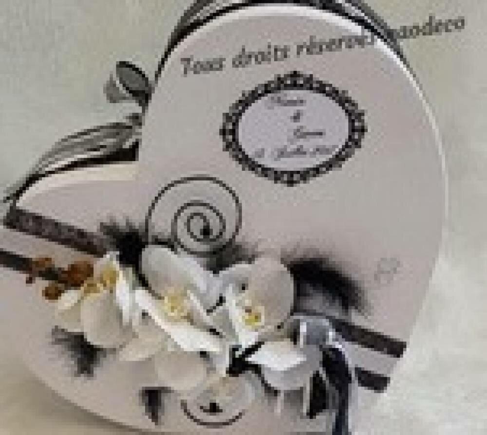 Ensemble mariage orchidées