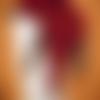 Echarpe renard orignale réalisée au crochet