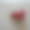 Boucles d'oreilles des tongs rouge et blanc