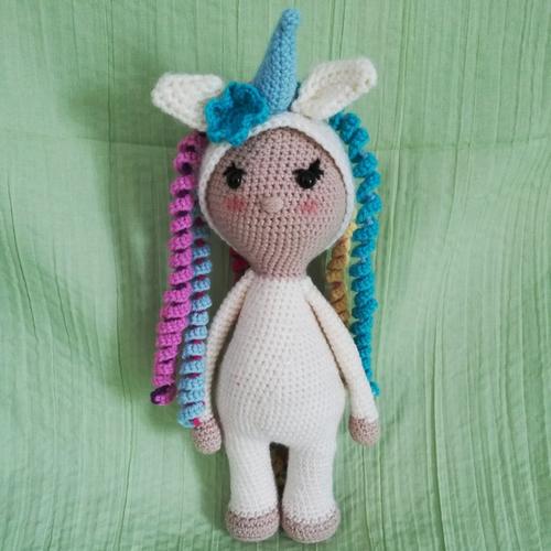 Arc En Ciel La Licorne Tuto Pdf Au Crochet