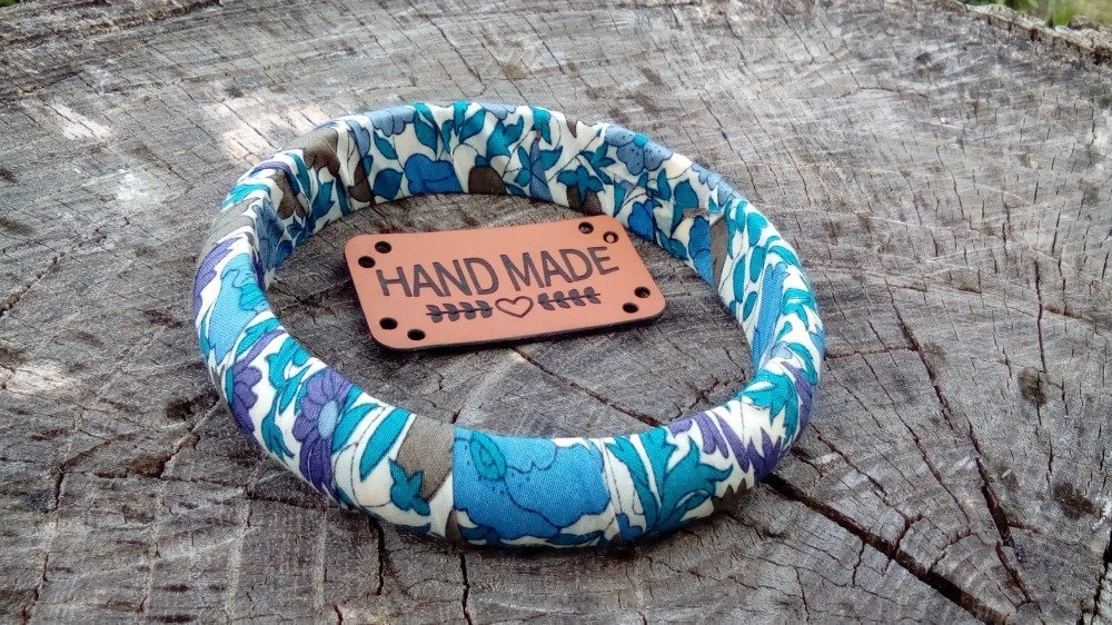 "Bracelet "" Blue liberty FUN """
