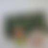 Masques barrières perroquets vert