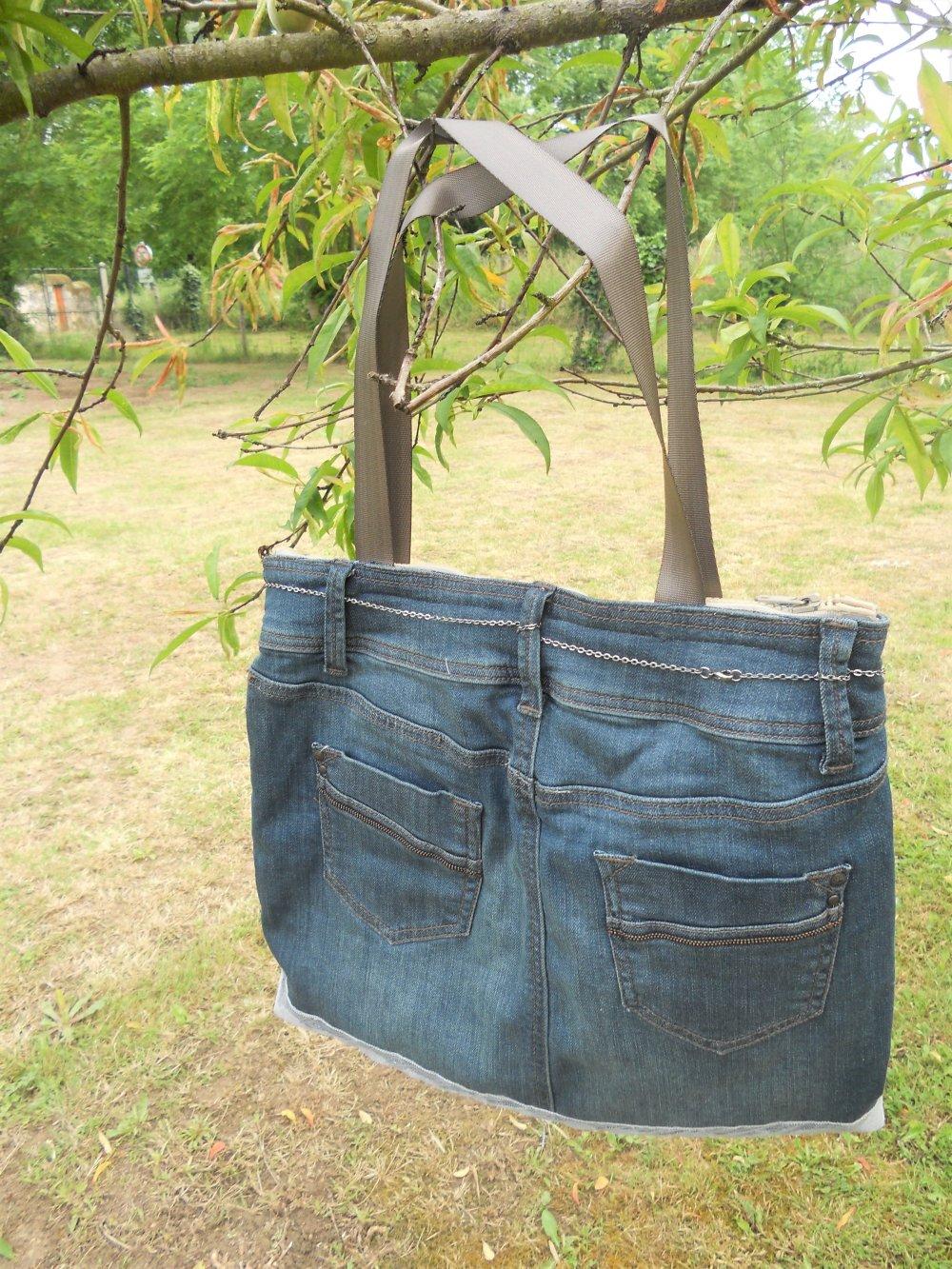 Sac Daisy en jean recyclé