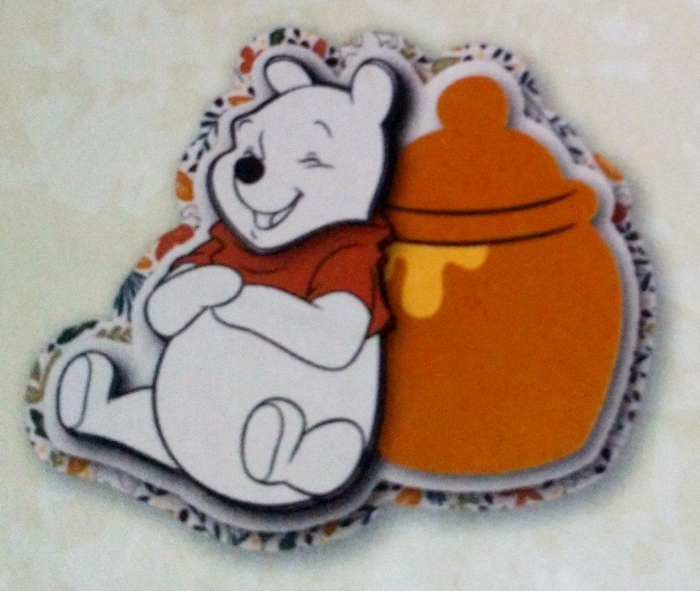 lot de 19 pièces pour scrapbooking ou carterie 3D sur le thème de Winnie, bourriquet, porcinet de Disney