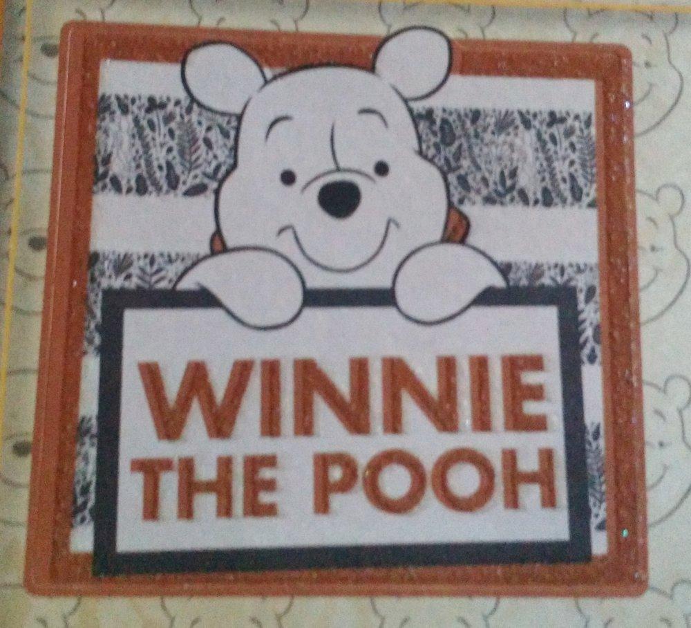 lot de 26 pièces pour scrapbooking ou carterie 3D sur le thème de Winnie, bourriquet, porcinet de Disney
