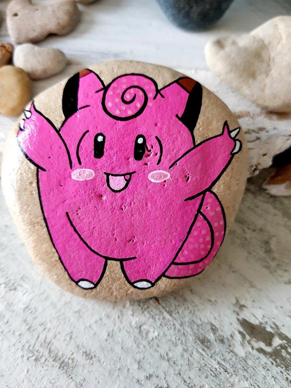 Les galets pokemon de wonder