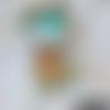 Doudou petit faon vert