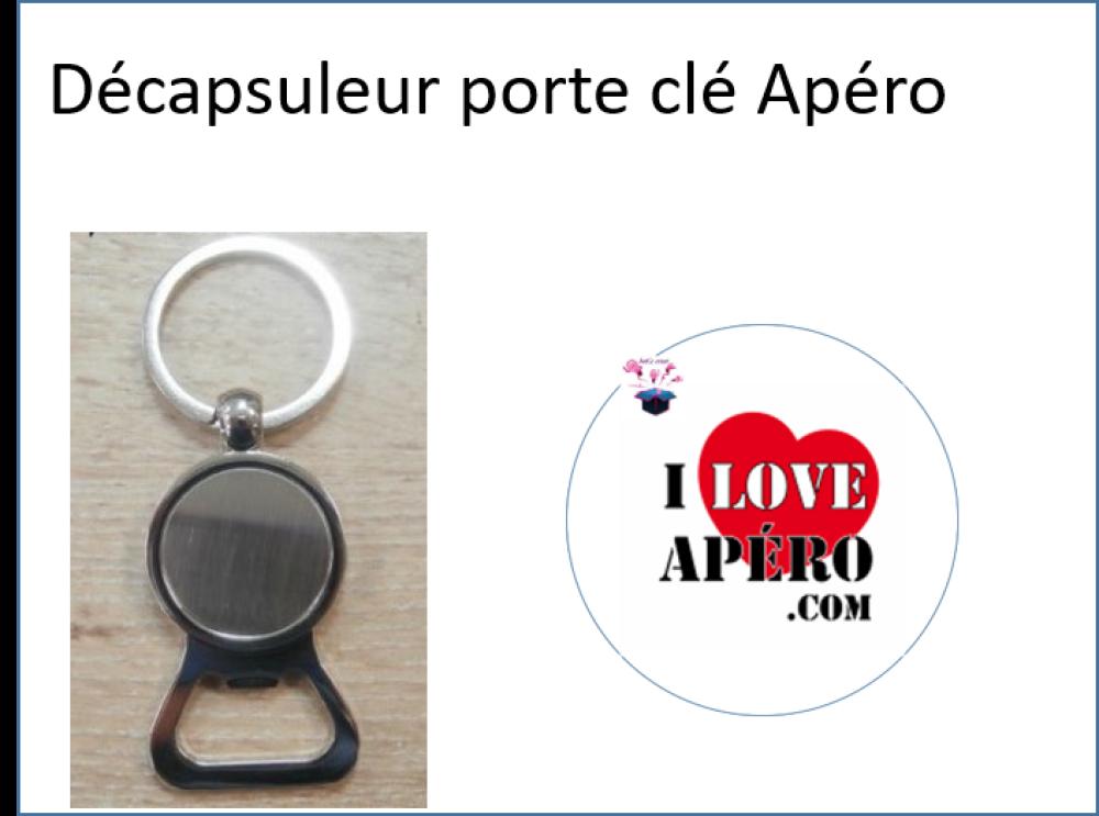 décapsuleur porte clé Apéro