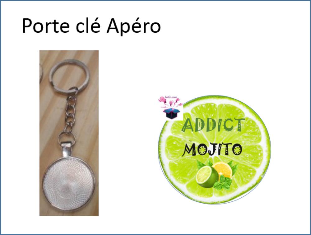 porte clé Apéro