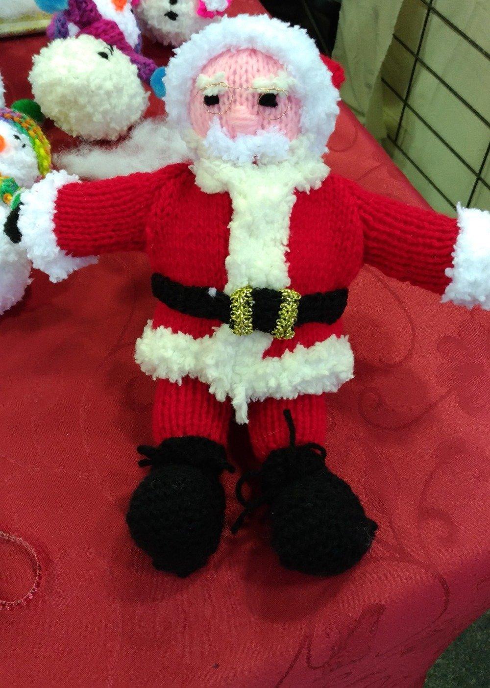Père Noël : la peluche