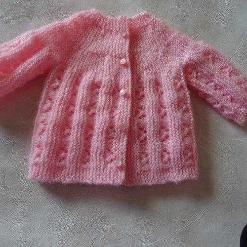 Brassière naissance couleur  rose