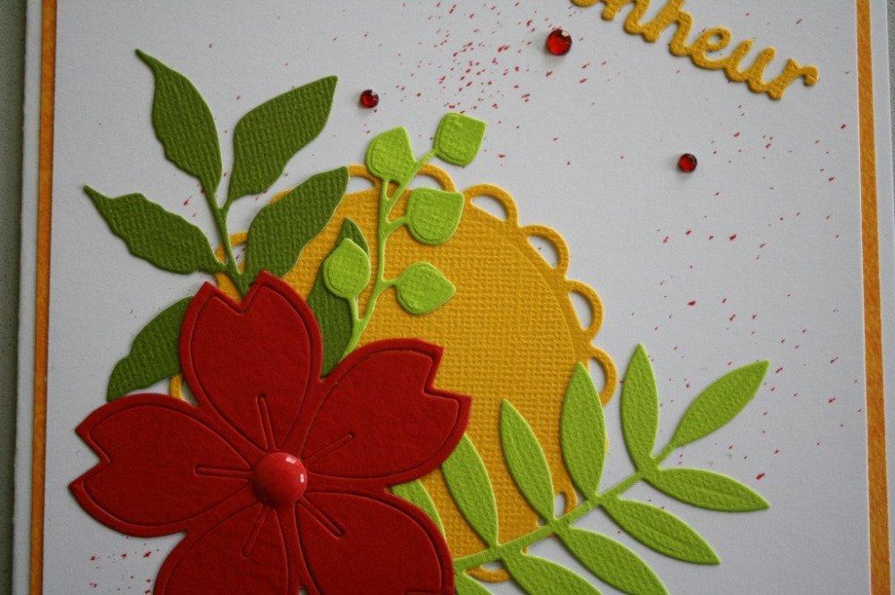 Carte : Bonheur floral