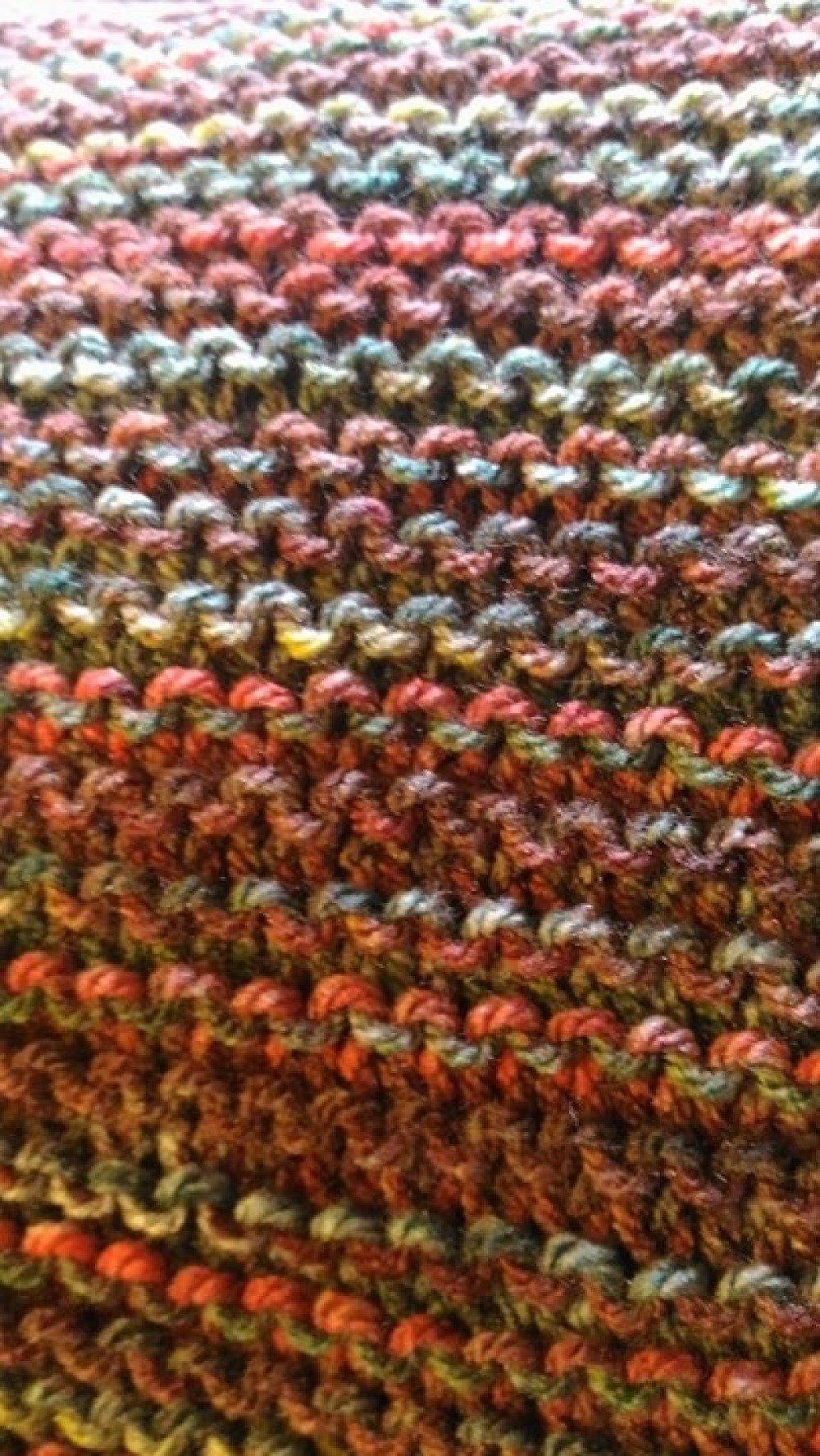 Chèche + bonnet multicolore