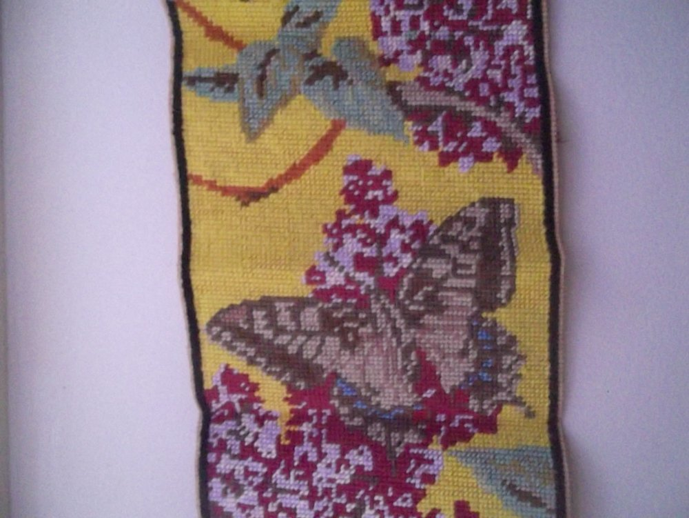 papillon et/ou faon en canevas