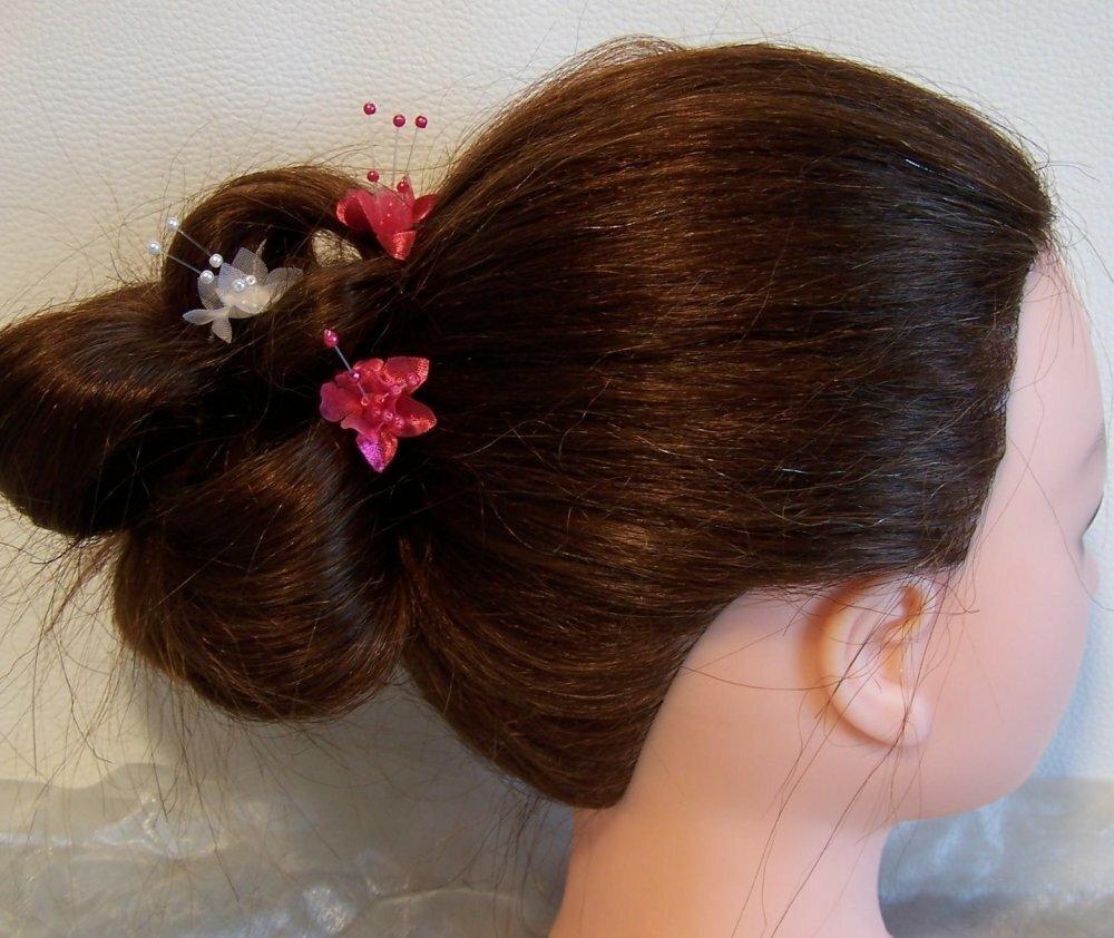 Lot de pics à cheveux original pour mariée et ou demoiselle d'honneur