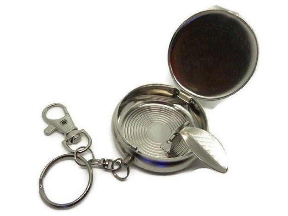 Porte clés, cendrier de poche, idée cadeau noel,anniversaire,fête, personnalisable,cadeau pour fumeur,fumeuse