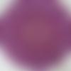 Napperon rond, fait main, neuf. 32 cm, violet, fait main. réalisé au crochet avec du coton fin.