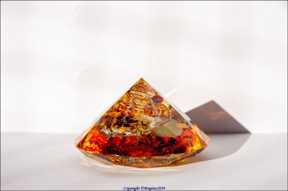 Orgonite diamant. O18119