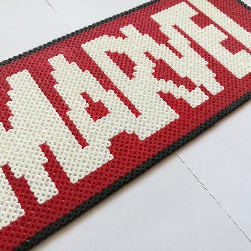 Logo Marvel En Perles à Repasser Hama