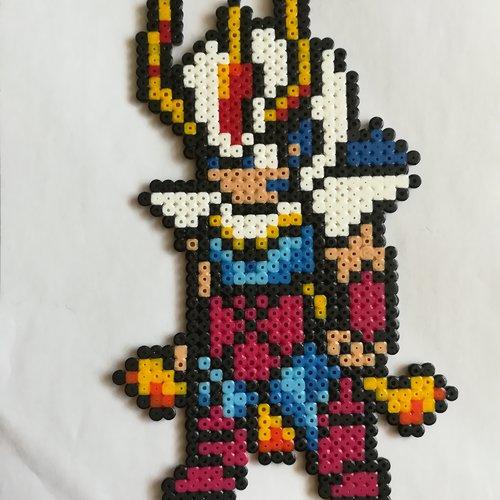 Ikky Chevalier Du Phoenix Chevaliers Du Zodiaque Pixel