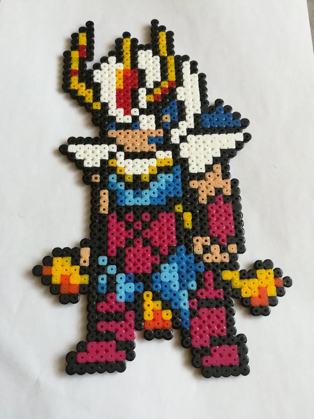 Ikky Chevalier Du Phoenix Chevaliers Du Zodiaque Pixel Art Geek Art