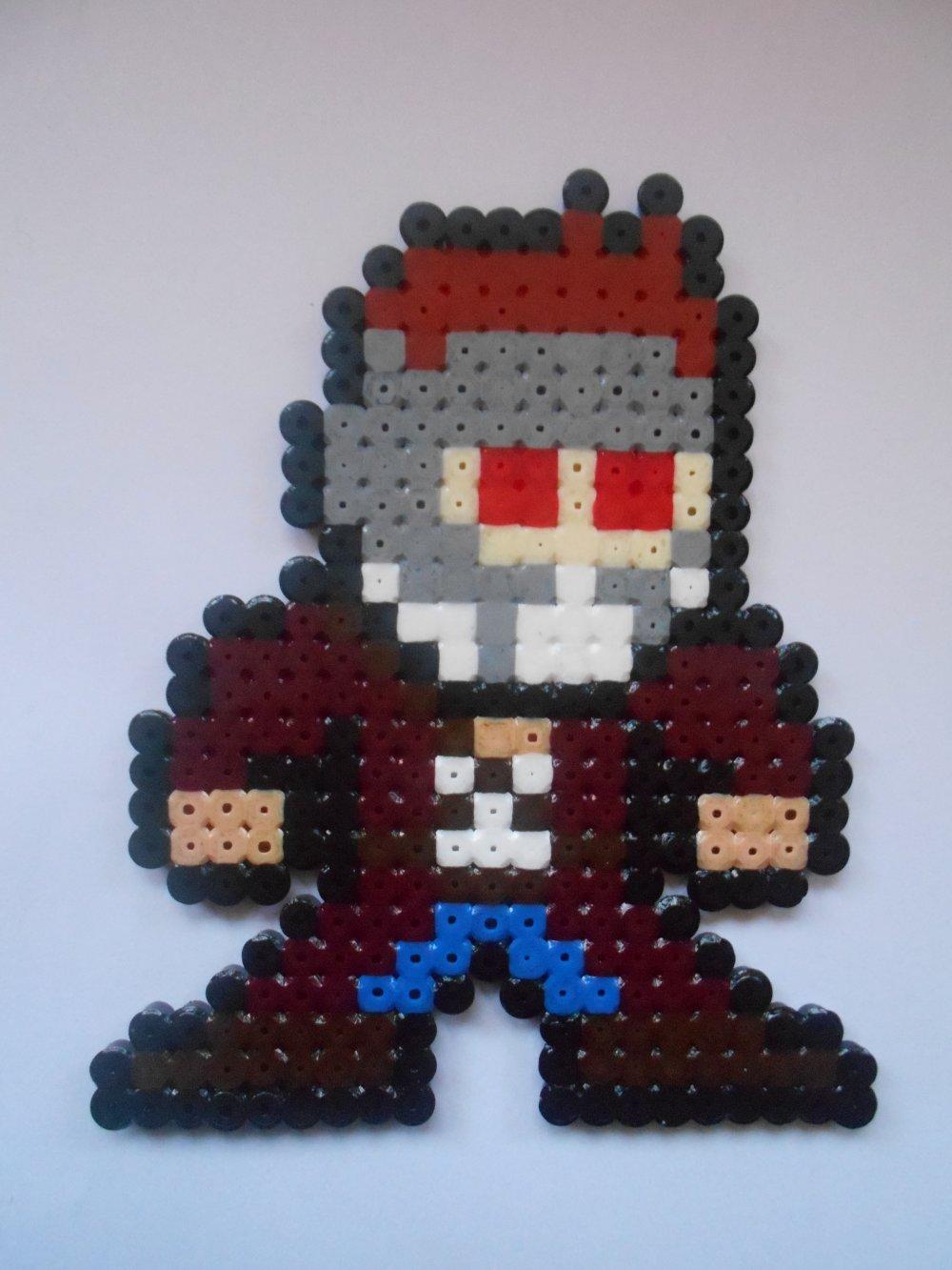 MARVEL Star Lord Gardiens de la Galaxie - décoration en perles à repasser Hama - Pixel / Geek Art