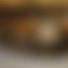 """Collier sautoir vintage avec cabochon """"les oiseaux"""""""