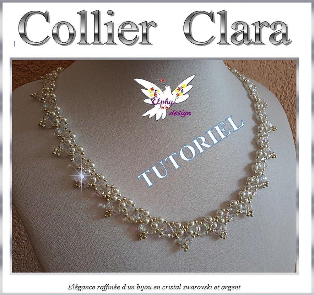 Collier CLARA son tutoriel en PDF